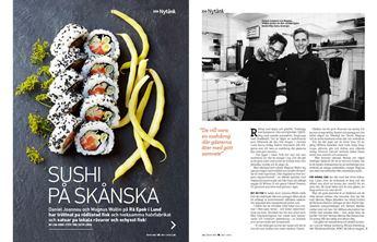 Sushi - uppslag - s