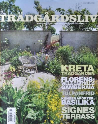 Trädgårdsliv Signe, omslag - s