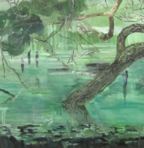 Helmtrud Nyström målning