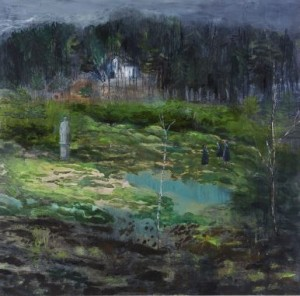 Helmtrud nyström målning II